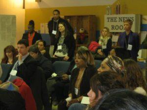Closing circle at Creative Trenton